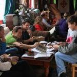 Seed savers donating seed