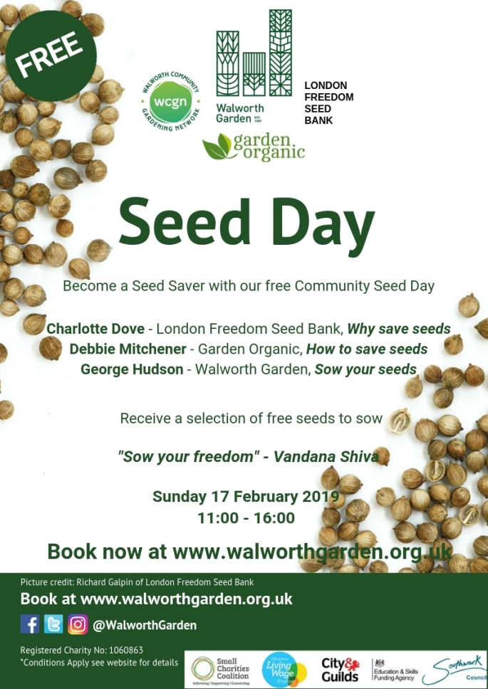 Seed day poster